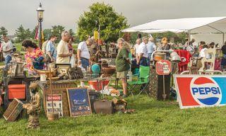 Shipshewana Antique Market festival Indiana