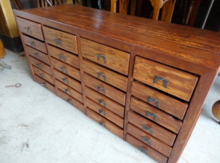 Shipshewana Antique & Miscellaneous Auction Cabinet