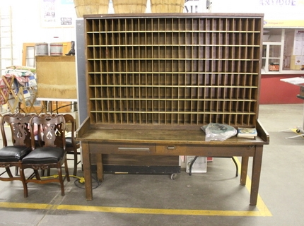 Large Mailing Cabinet at Shipshewana Auction September 28, 2016