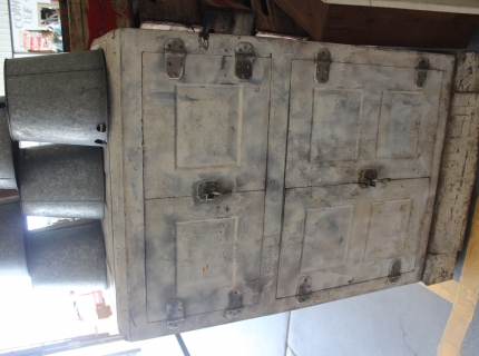 Shipshewana Indiana-Antique Auction-Ice Box