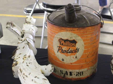 Shipshewana Auction-Antique-Phillips Gas Can
