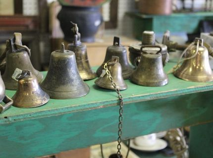 Shipshewana Auction-Antique-Old Bells
