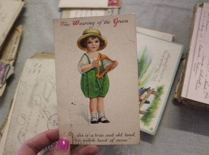Shipshewana Auction-Antique-Old cards
