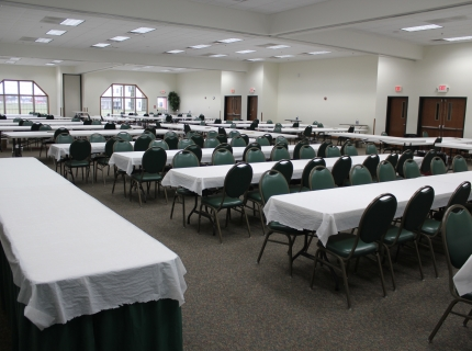 Farmstead Inn Conference Center Quilting Set up Event Venue