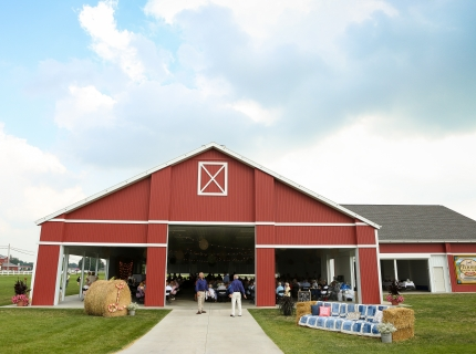 Farmstead Event Pavilion Wedding Reception
