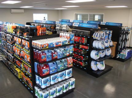 Shipshewana RV Service Center supply and accessory store