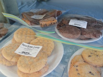 Amish Country Baked Goods sold at a market