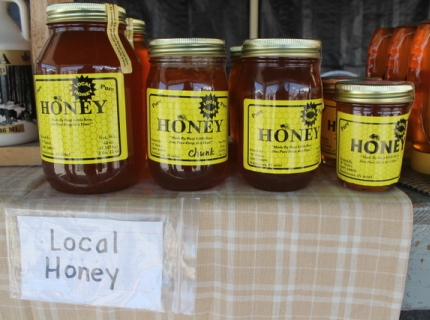 Purchasing honey or fresh produce from a roadside stand or at the flea market is the norm when you are from Shipshewana.