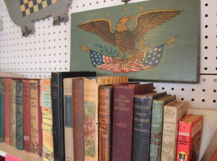 Shipshewana Flea Market-old books