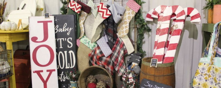Ship chic craft vintage show holiday bazaar for Made in the south craft shows