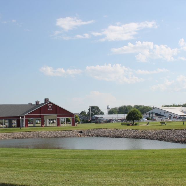 Farmstead Event Pavilion Grounds Shipshewana Indiana Event Venue