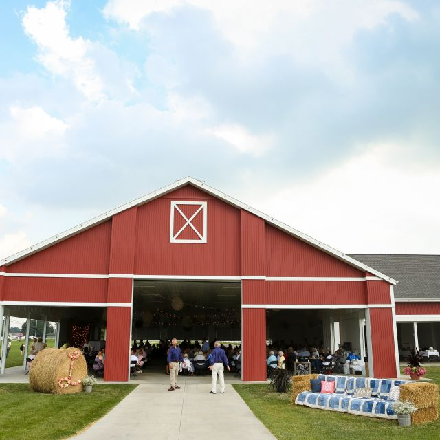 Farmstead Event Pavilion Wedding Shipshewana Indiana Event Venue