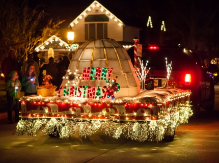Shipshewana Indiana Light Parade Float