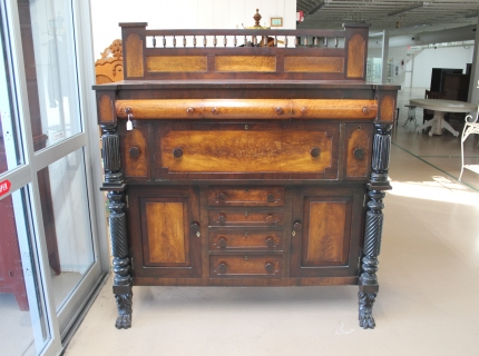 Gorgeous Sideboard Shipshewana Auction Antique Specialty Sale