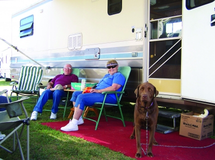 Campers at Shipshewana RV Park