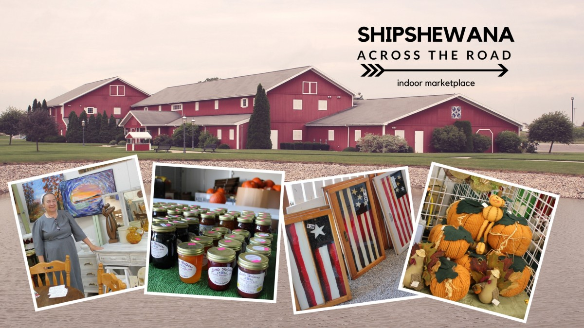 Shipshewana Across the Road Indoor Fall Flea Market
