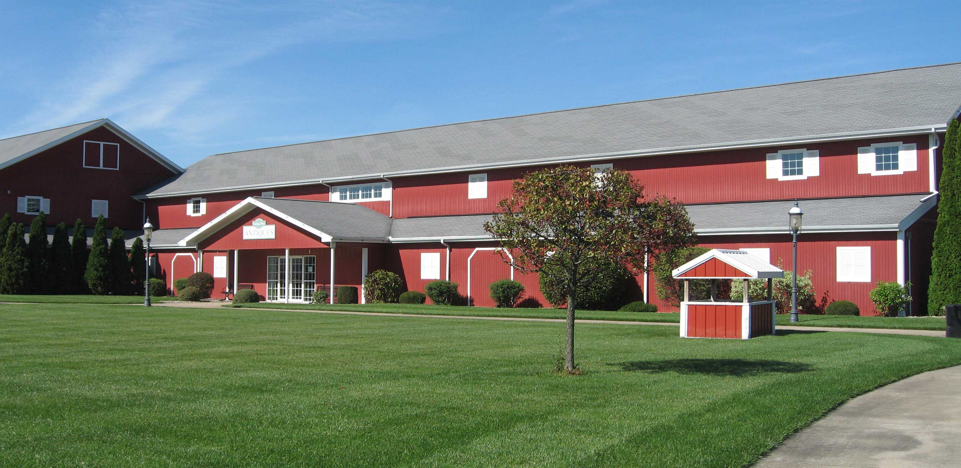 Farmstead Expo Barn event venue in Shipshewana