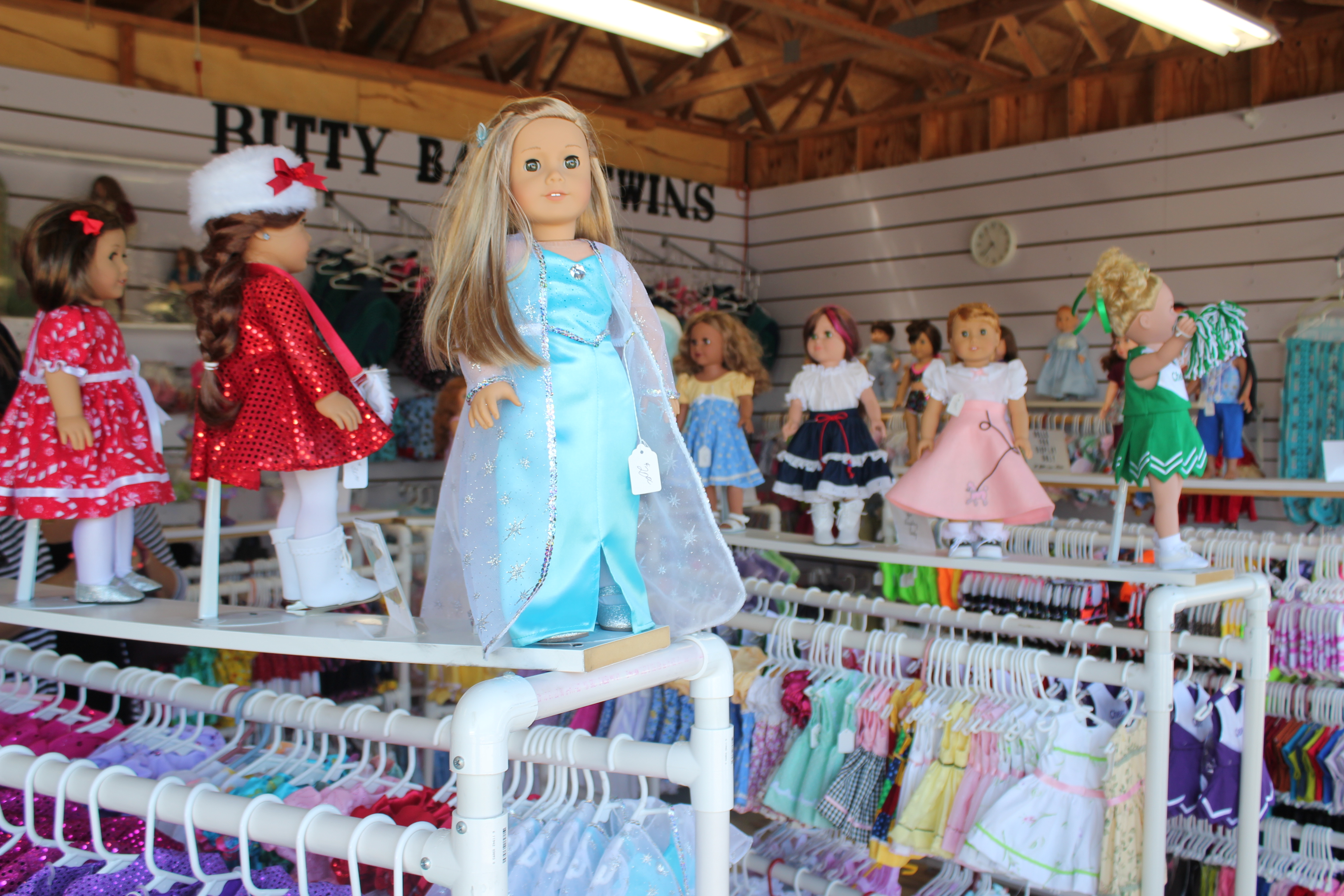 Doll Clothes 18 inch at Shipshewana Flea Market in Indiana