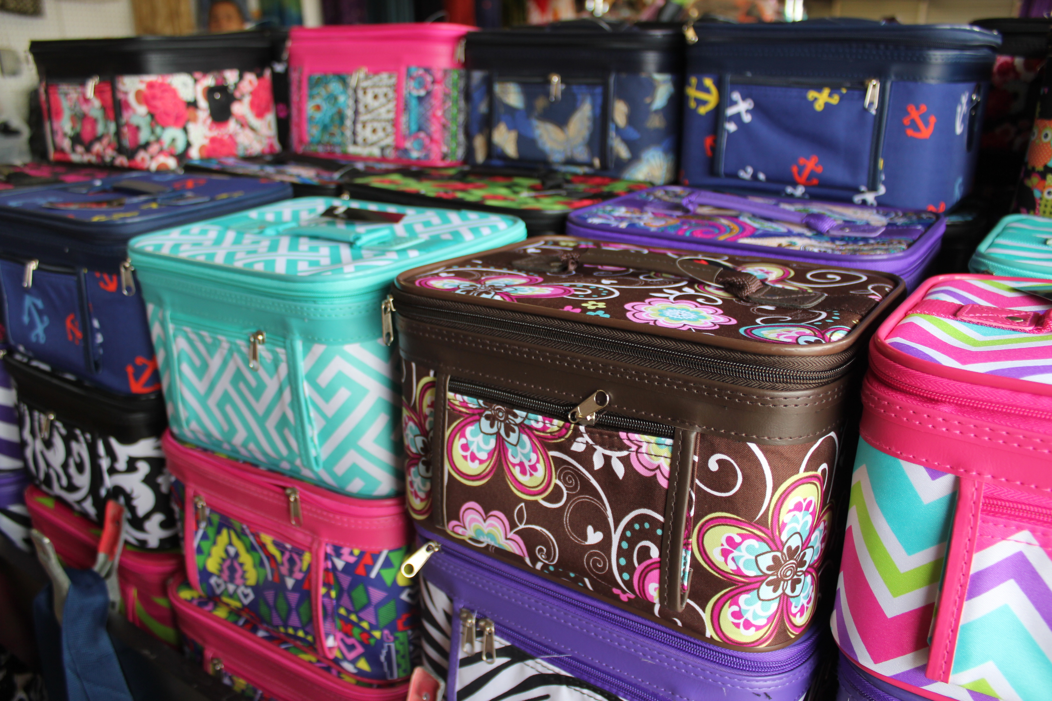 bags and luggage at Shipshewana Flea Market in Indiana
