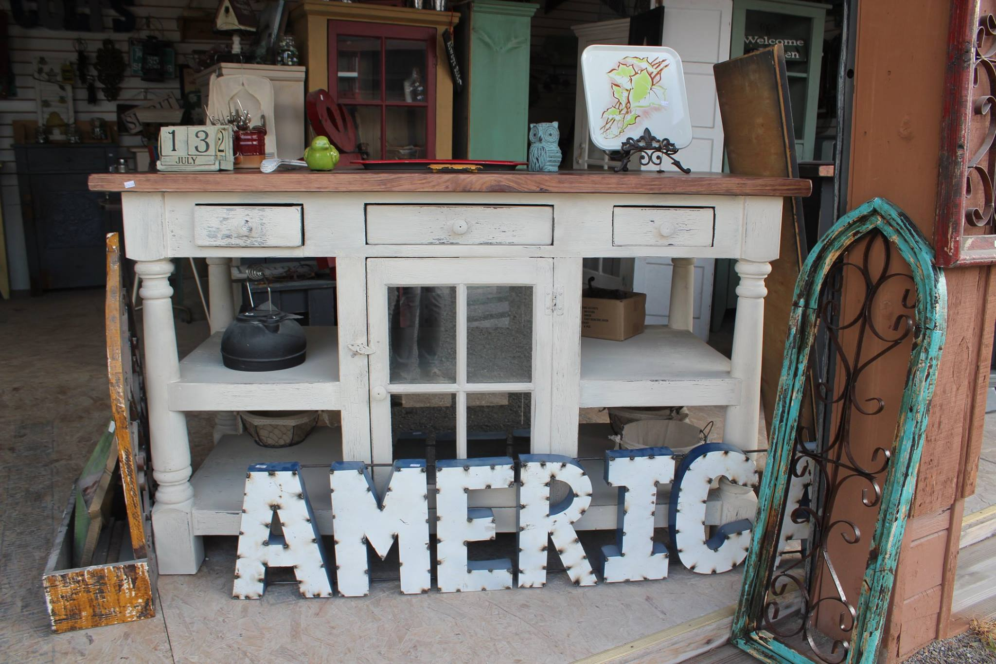 Amish furniture at Shipshewana Flea Market Little Red Hen House