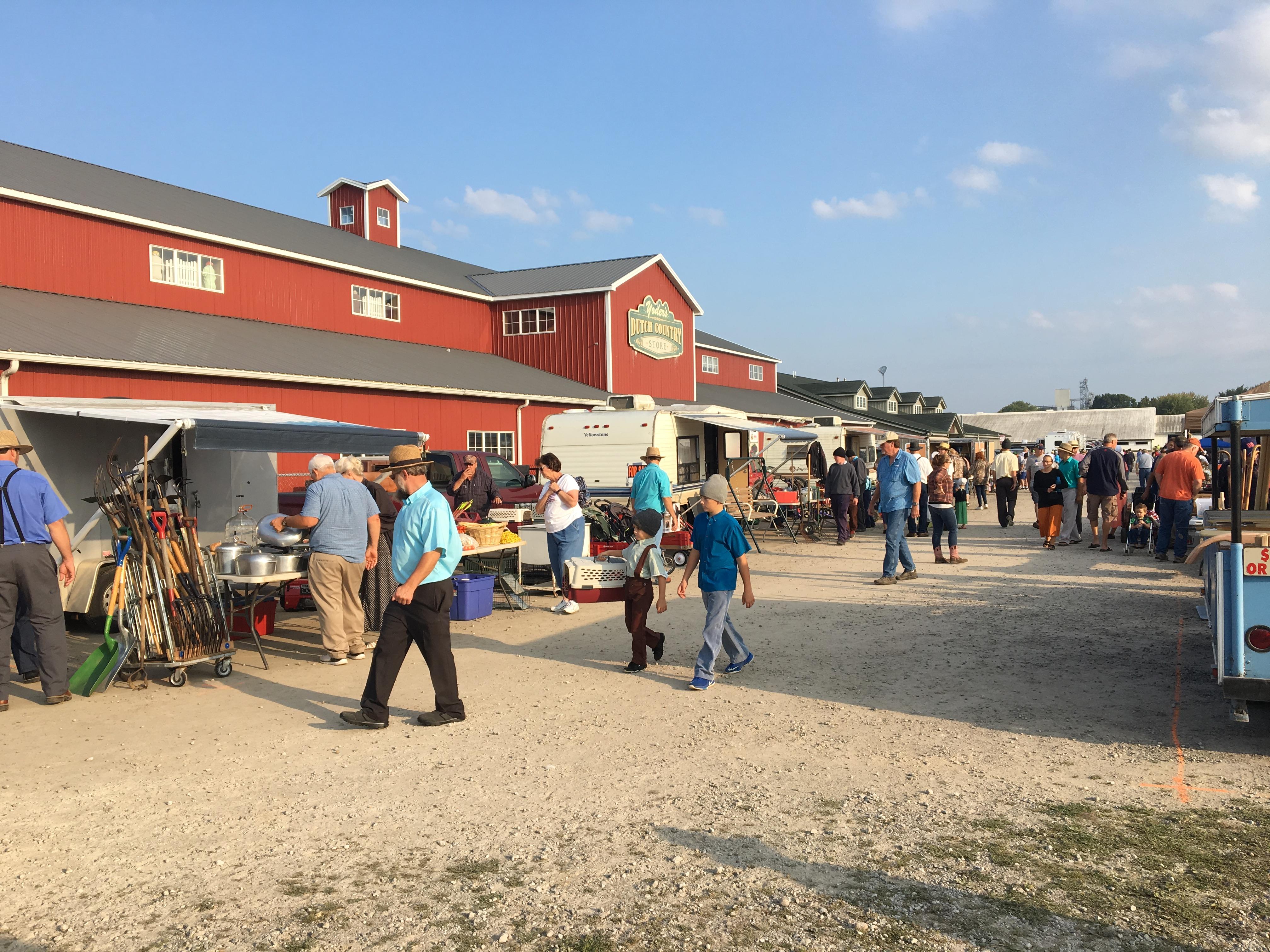 Swap Meet | Shipshewana Auction & Flea Market | Shipshewana
