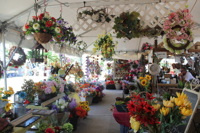 Shipshewana flea market vendor spotlight lillys flower cart dreaming about what their hanging baskets might look like on the front porch of my cabin plus purchasing silk flowers would be nice because mightylinksfo