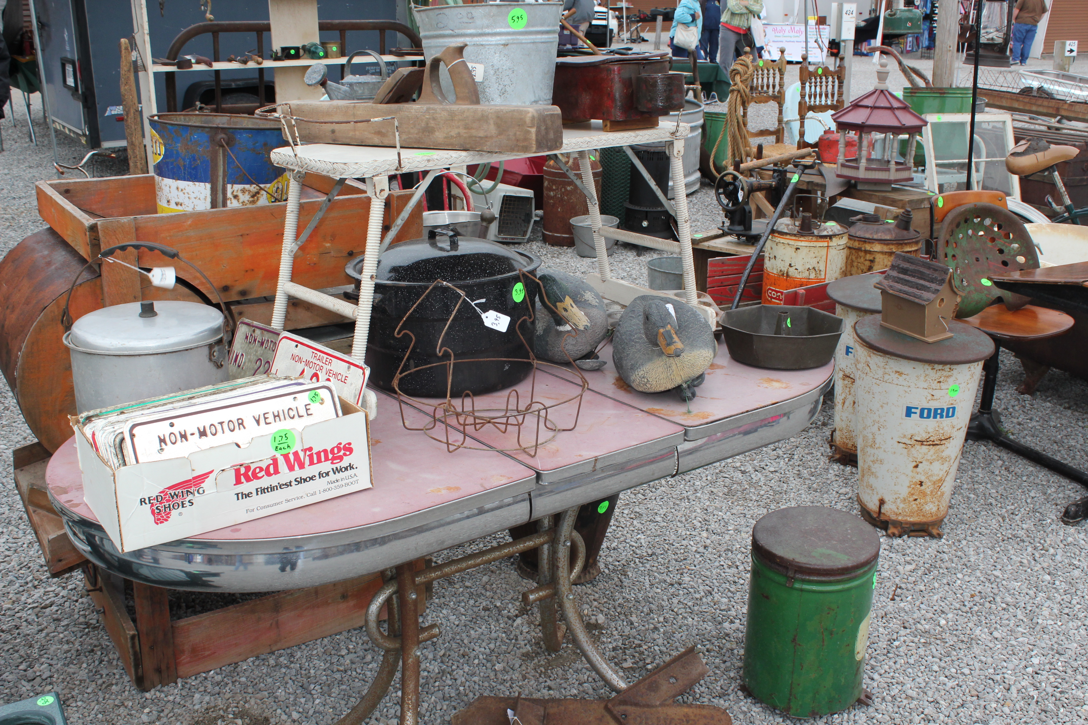 Antiques, Collectibles & Vintage Trail at Shipshewana Flea Market