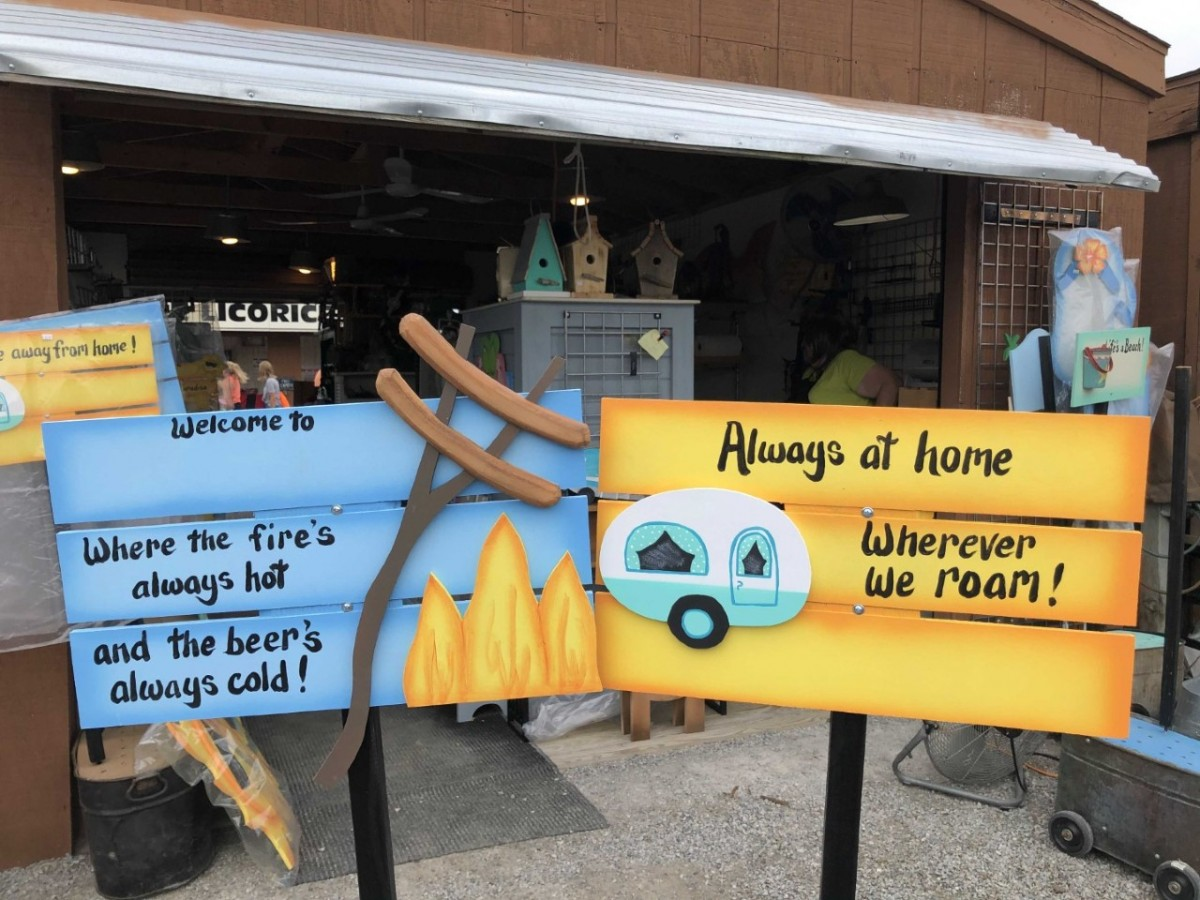 15 Outdoor & Camping Booths at Shipshewana Flea Market