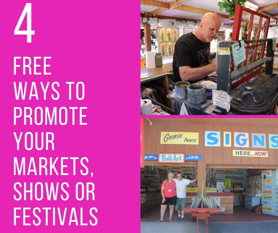 4 Free Ways to Promote Your Markets, Shows or Festivals