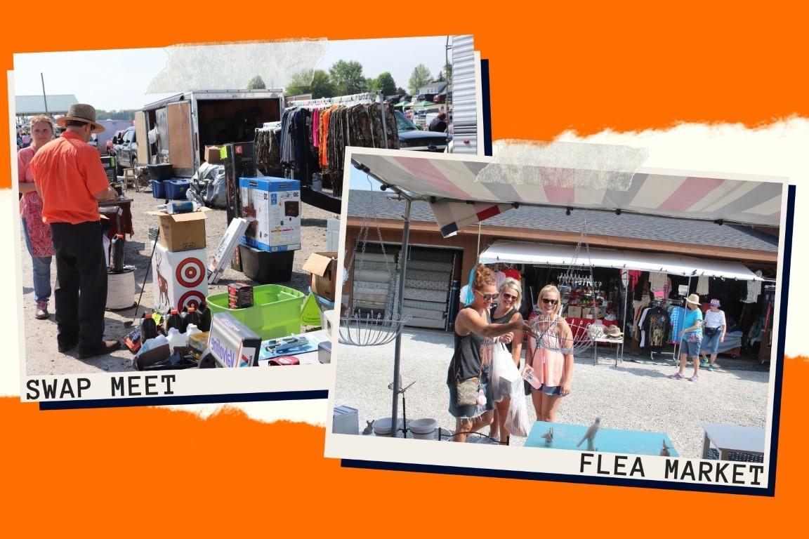 What's the Difference Between the Shipshewana Flea Market & Swap Meet?