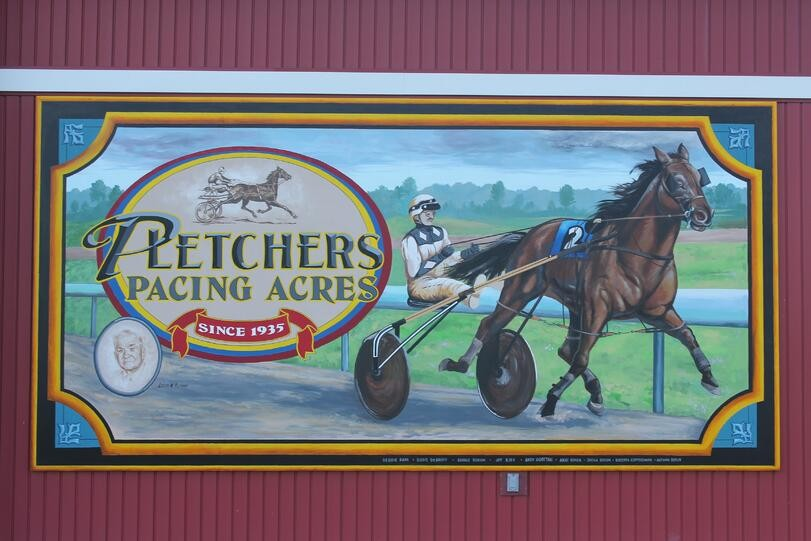 Do you Know the Story Behind these 16 Huge Murals in Shipshewana, Indiana?