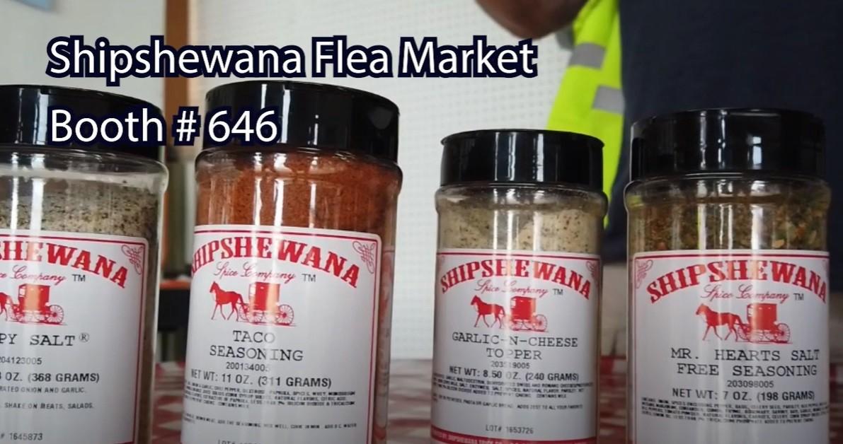 Vendor Spotlight: Shipshewana Spice Company